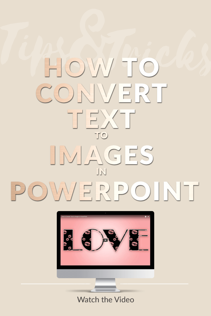 How to Convert Text to Images in PowerPoint - PrettyWebz Media