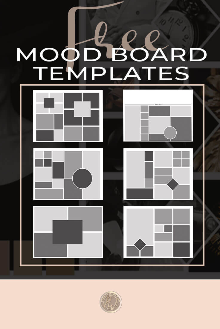 Mood Board Template Effective Communication No Words Required Prettywebz Media Business Templates Graphics