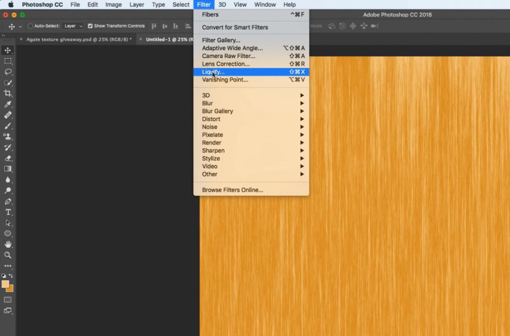 How to Make Easy Agate Photoshop Textures - PrettyWebz Media