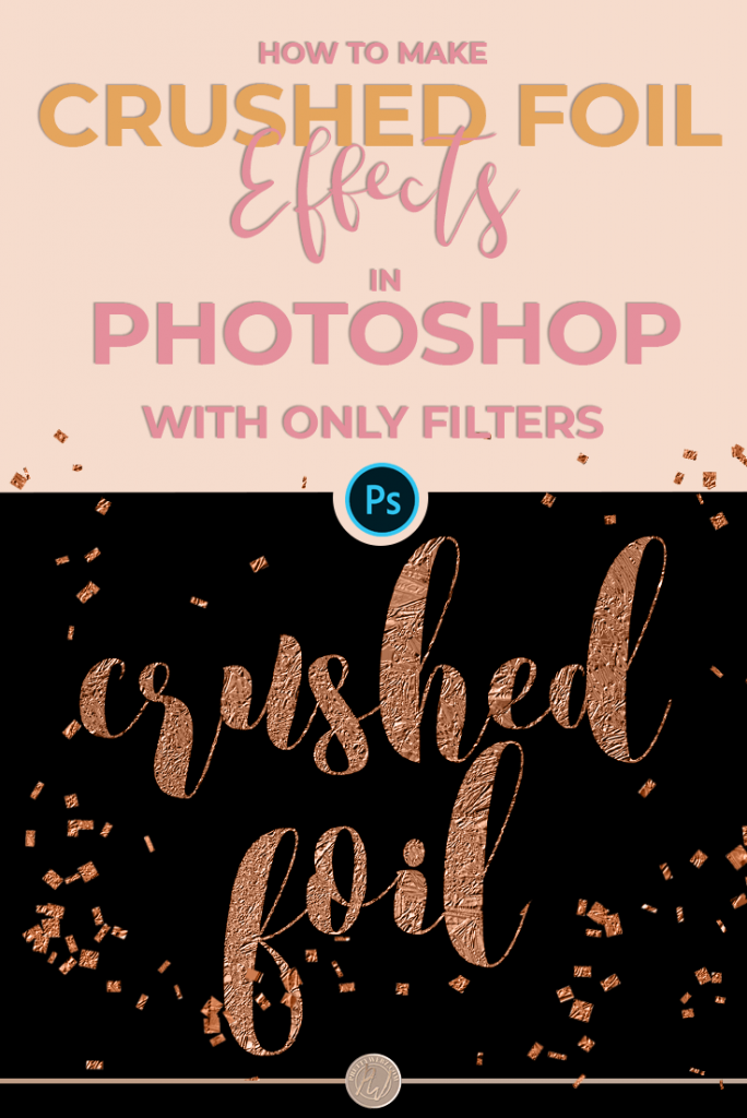 Easy Silver & Gold Foil Texture Photoshop Tutorial - PrettyWebz