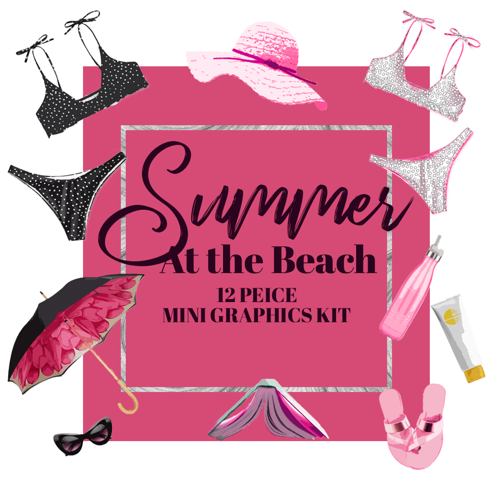 Summer At the Beach Mini Graphics Kit - PrettyWebz Media