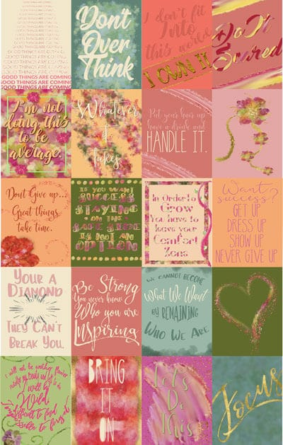 Free Printable Planner Stickers Meaningful Quotes That Will Inspire