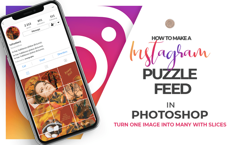 How to create instagram grid