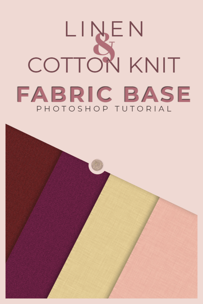 Fabric Texture Photoshop Tutorial - PrettyWebz Media